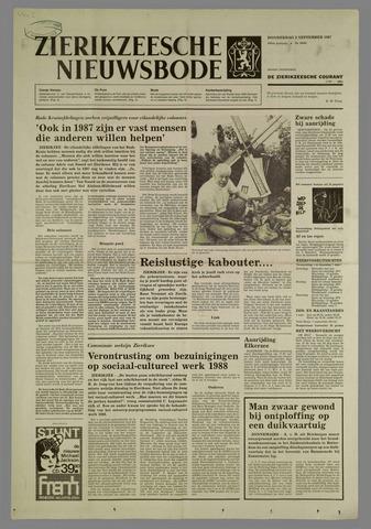 Zierikzeesche Nieuwsbode 1987-09-03