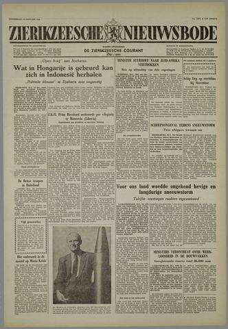 Zierikzeesche Nieuwsbode 1958-01-23