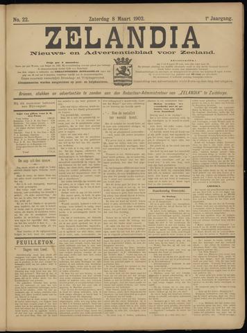 Zelandia. Nieuws-en advertentieblad voor Zeeland | edities: Het Land van Hulst en De Vier Ambachten 1902-03-08
