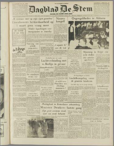 de Stem 1956-02-09