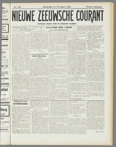 Nieuwe Zeeuwsche Courant 1906-11-15