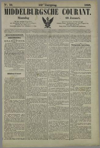 Middelburgsche Courant 1888-01-23