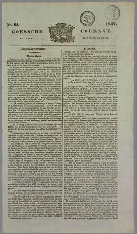 Goessche Courant 1837-11-20