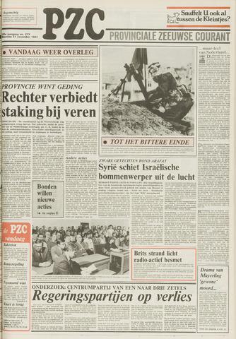 Provinciale Zeeuwse Courant 1983-11-21