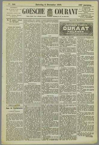 Goessche Courant 1919-12-06