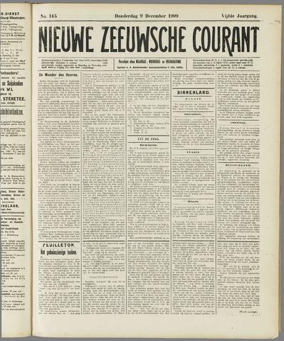 Nieuwe Zeeuwsche Courant 1909-12-09