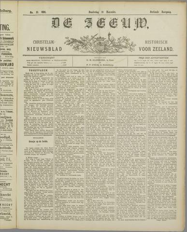 De Zeeuw. Christelijk-historisch nieuwsblad voor Zeeland 1898-11-10