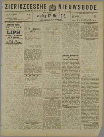 Zierikzeesche Nieuwsbode 1916-05-12