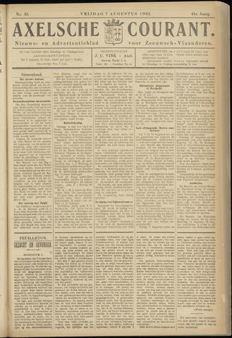 Axelsche Courant 1925-08-07