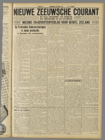 Nieuwe Zeeuwsche Courant 1931-04-23