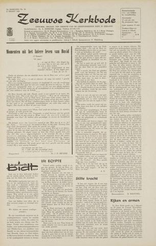 Zeeuwsche kerkbode, weekblad gewijd aan de belangen der gereformeerde kerken/ Zeeuwsch kerkblad 1968-03-21