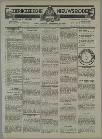 Zierikzeesche Nieuwsbode 1937-10-27