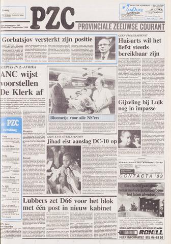Provinciale Zeeuwse Courant 1989-09-21