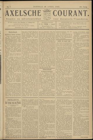 Axelsche Courant 1925-04-28