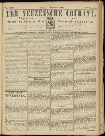 Ter Neuzensche Courant. Algemeen Nieuws- en Advertentieblad voor Zeeuwsch-Vlaanderen / Neuzensche Courant ... (idem) / (Algemeen) nieuws en advertentieblad voor Zeeuwsch-Vlaanderen 1904-09-27