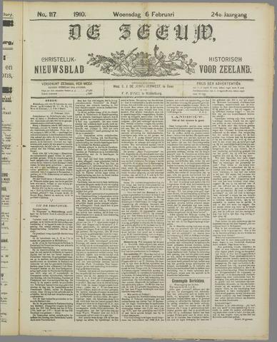 De Zeeuw. Christelijk-historisch nieuwsblad voor Zeeland 1910-02-16