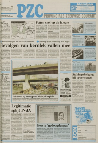 Provinciale Zeeuwse Courant 1992-03-25