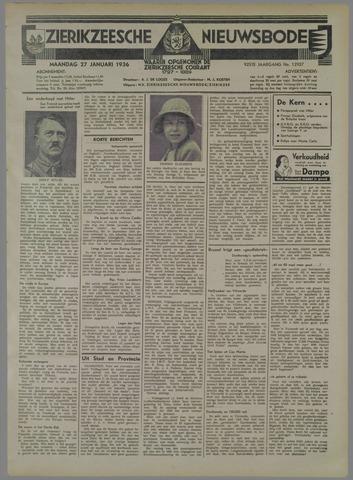 Zierikzeesche Nieuwsbode 1936-01-27