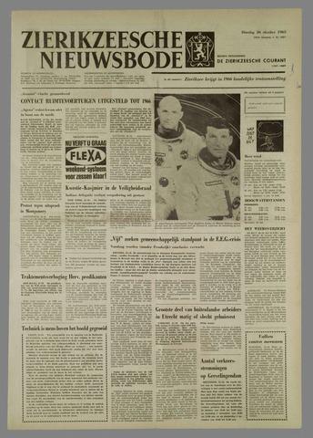 Zierikzeesche Nieuwsbode 1965-10-26