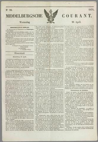 Middelburgsche Courant 1871-04-26