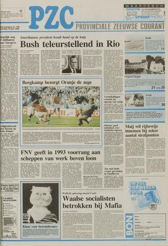 Provinciale Zeeuwse Courant 1992-06-13