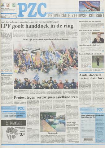 Provinciale Zeeuwse Courant 2002-11-27