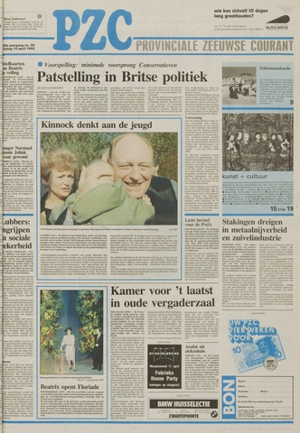 Provinciale Zeeuwse Courant 1992-04-10