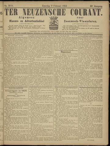 Ter Neuzensche Courant. Algemeen Nieuws- en Advertentieblad voor Zeeuwsch-Vlaanderen / Neuzensche Courant ... (idem) / (Algemeen) nieuws en advertentieblad voor Zeeuwsch-Vlaanderen 1895-02-09