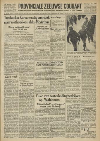 Provinciale Zeeuwse Courant 1950-12-02
