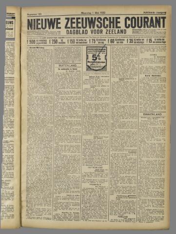 Nieuwe Zeeuwsche Courant 1922-05-01