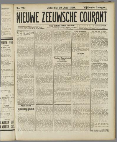 Nieuwe Zeeuwsche Courant 1919-06-28