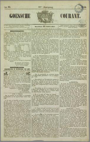 Goessche Courant 1856-02-11