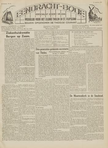 Eendrachtbode (1945-heden)/Mededeelingenblad voor het eiland Tholen (1944/45) 1959-09-25