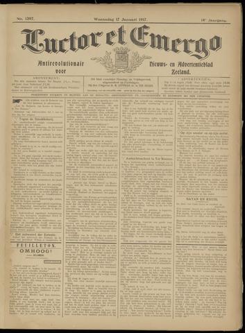 Luctor et Emergo. Antirevolutionair nieuws- en advertentieblad voor Zeeland / Zeeuwsch-Vlaanderen. Orgaan ter verspreiding van de christelijke beginselen in Zeeuwsch-Vlaanderen 1917-01-17