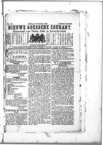 Nieuwe Goessche Courant 1879-11-25