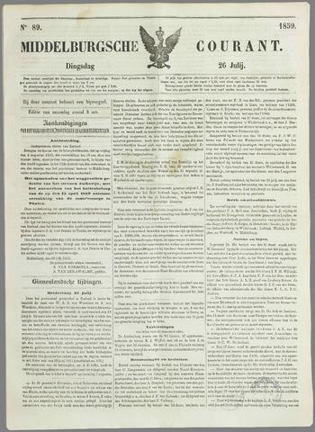 Middelburgsche Courant 1859-07-26