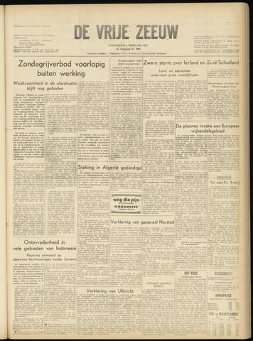 de Vrije Zeeuw 1957-02-06