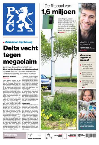 Provinciale Zeeuwse Courant 2016-05-20