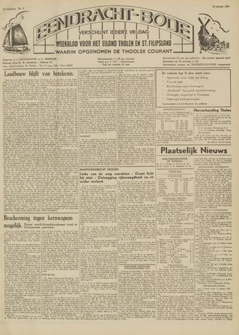 Eendrachtbode (1945-heden)/Mededeelingenblad voor het eiland Tholen (1944/45) 1959-01-23