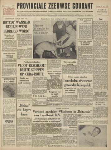 Provinciale Zeeuwse Courant 1962-10-20