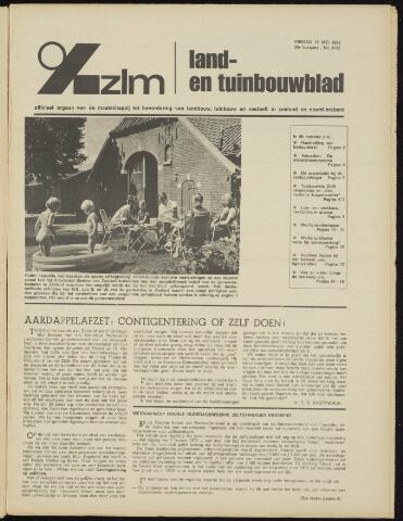 Zeeuwsch landbouwblad ... ZLM land- en tuinbouwblad 1972-05-19