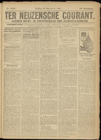 Ter Neuzensche Courant. Algemeen Nieuws- en Advertentieblad voor Zeeuwsch-Vlaanderen / Neuzensche Courant ... (idem) / (Algemeen) nieuws en advertentieblad voor Zeeuwsch-Vlaanderen 1926-12-24