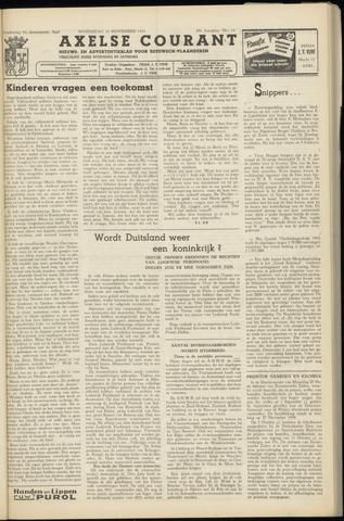 Axelsche Courant 1954-11-24