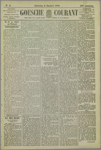 Goessche Courant 1919-01-11