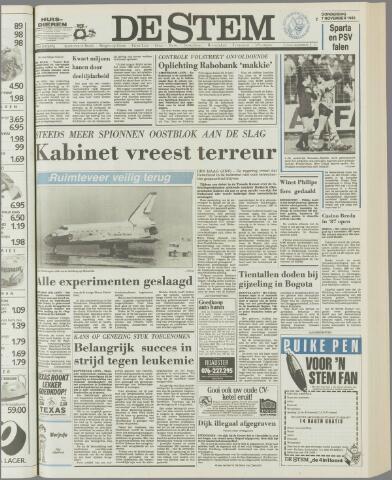 de Stem 1985-11-07