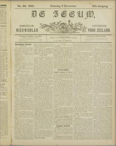 De Zeeuw. Christelijk-historisch nieuwsblad voor Zeeland 1905-12-09