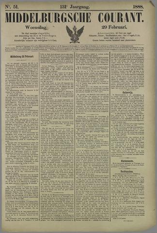 Middelburgsche Courant 1888-02-29