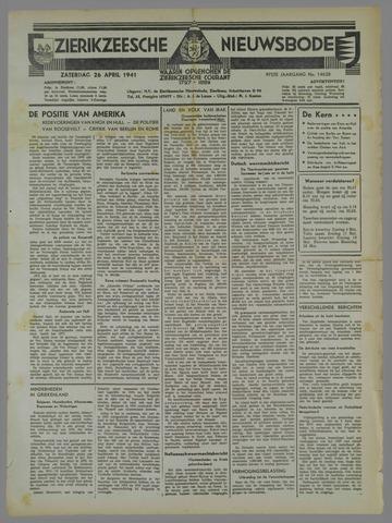 Zierikzeesche Nieuwsbode 1941-04-26