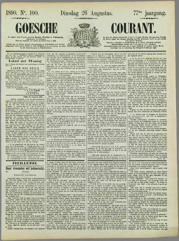 Goessche Courant 1890-08-26