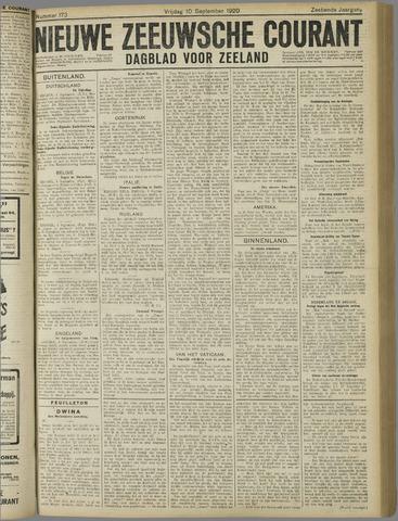 Nieuwe Zeeuwsche Courant 1920-09-10